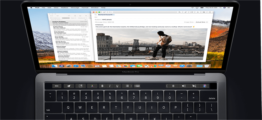 Create Shorcuts using Touch Bar