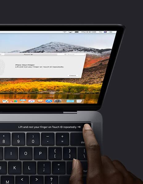 Unlock MacBook Pro using Touch ID