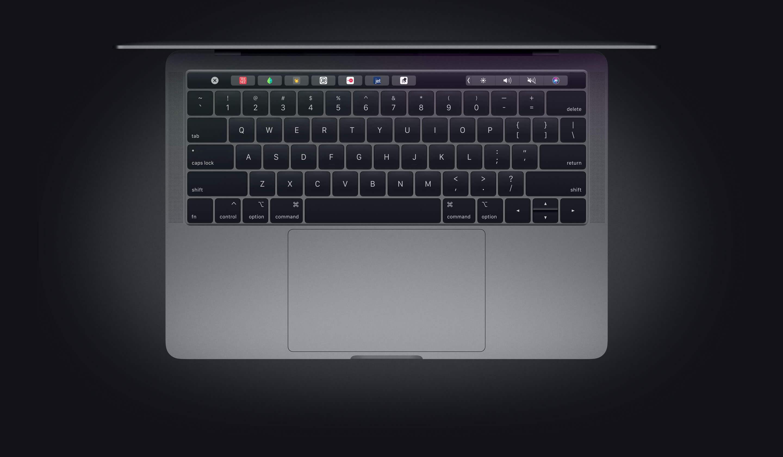 New Butterfly keyboard on Macbook pro