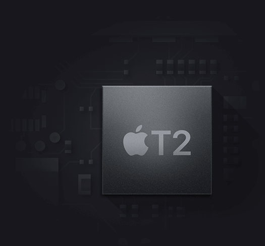 New MacBook Pro featuring Apple T2 Chip
