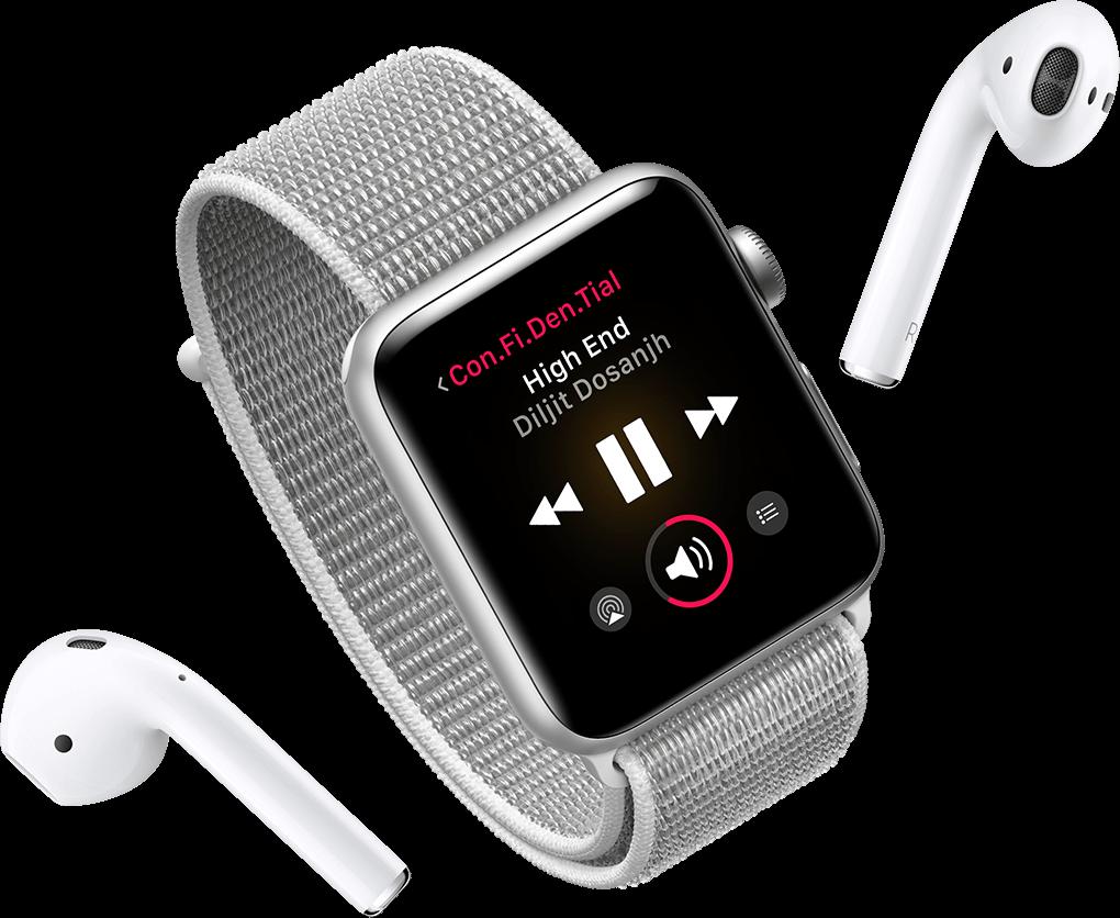 Stream Music on Apple Watch Series 3