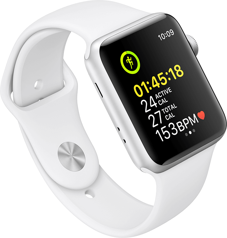 Workout App on Apple Watch Series 3
