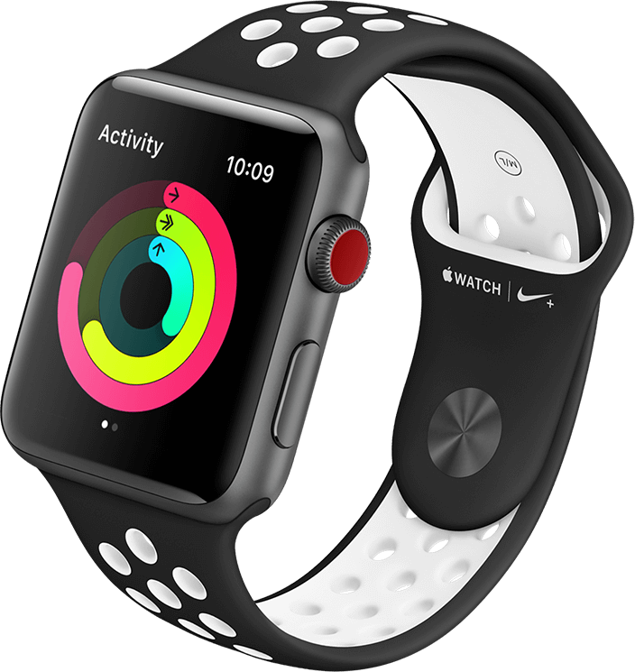 Apple Watch Series 3 featuring Activity Tracker
