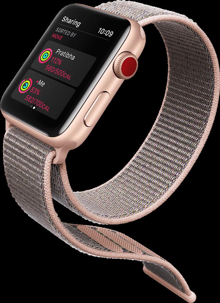 Activity Sharing on Apple Watch Series 3