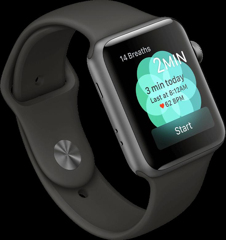 Breath App on Apple Watch Series 3
