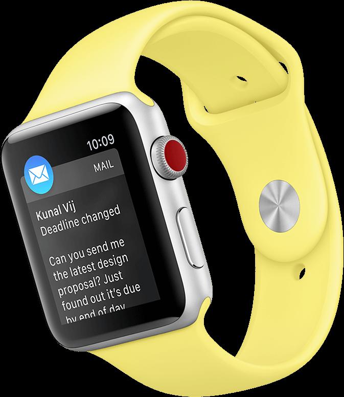 Get Alerts on Apple Watch Series 3